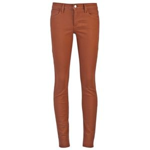 Joe's Jeans// The skinny burnt orange long jean